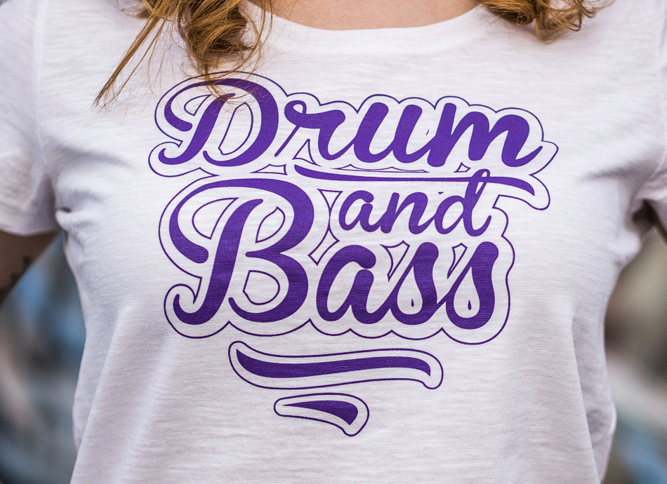 DRUM AND BASS WEAR for girls